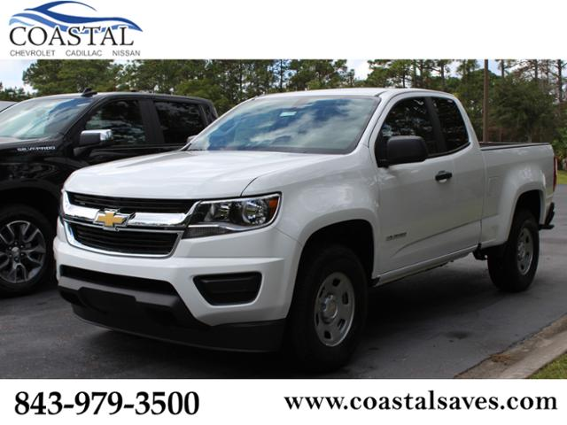 New 2019 Chevrolet Colorado 2wd Ext Cab 128 3 Work Truck