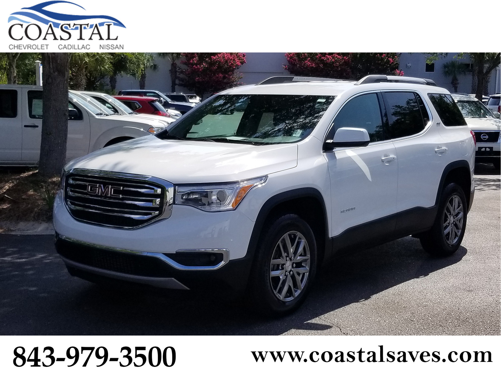 Certified Pre-Owned 2019 GMC Acadia FWD 4dr SLT w/SLT-1