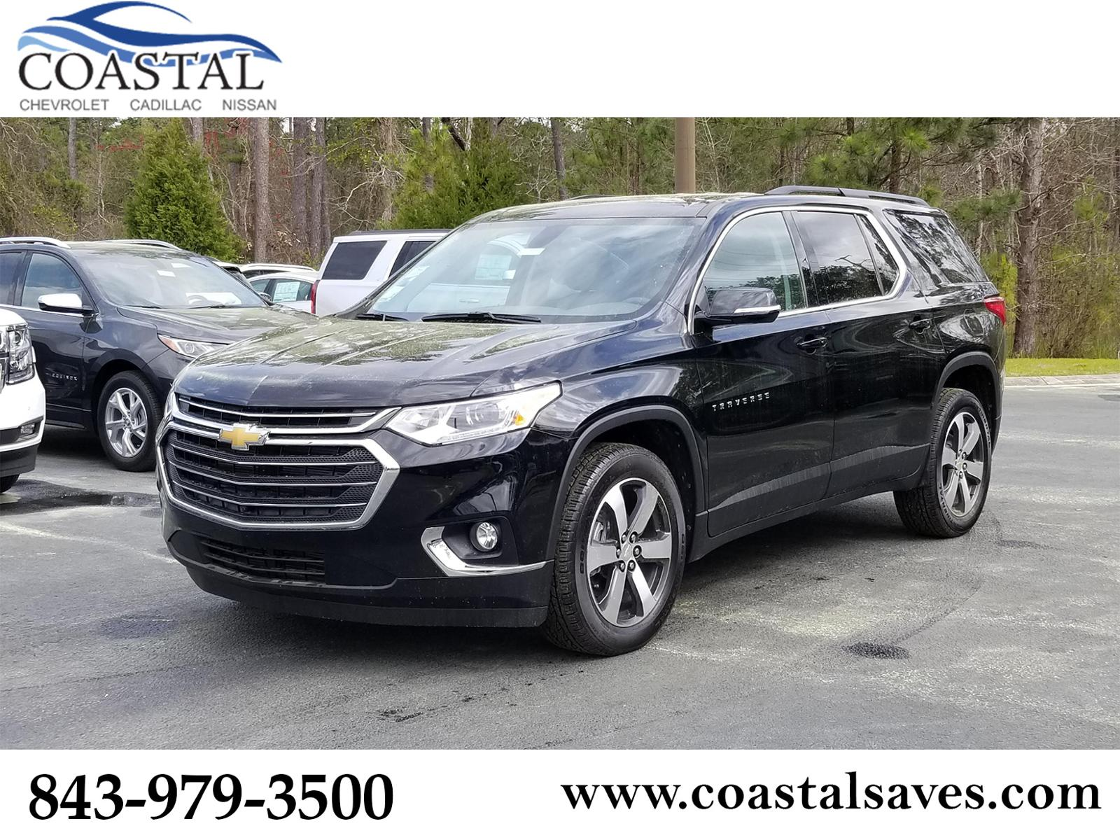 New 2019 Chevrolet Traverse FWD 4dr LT Leather w/3LT