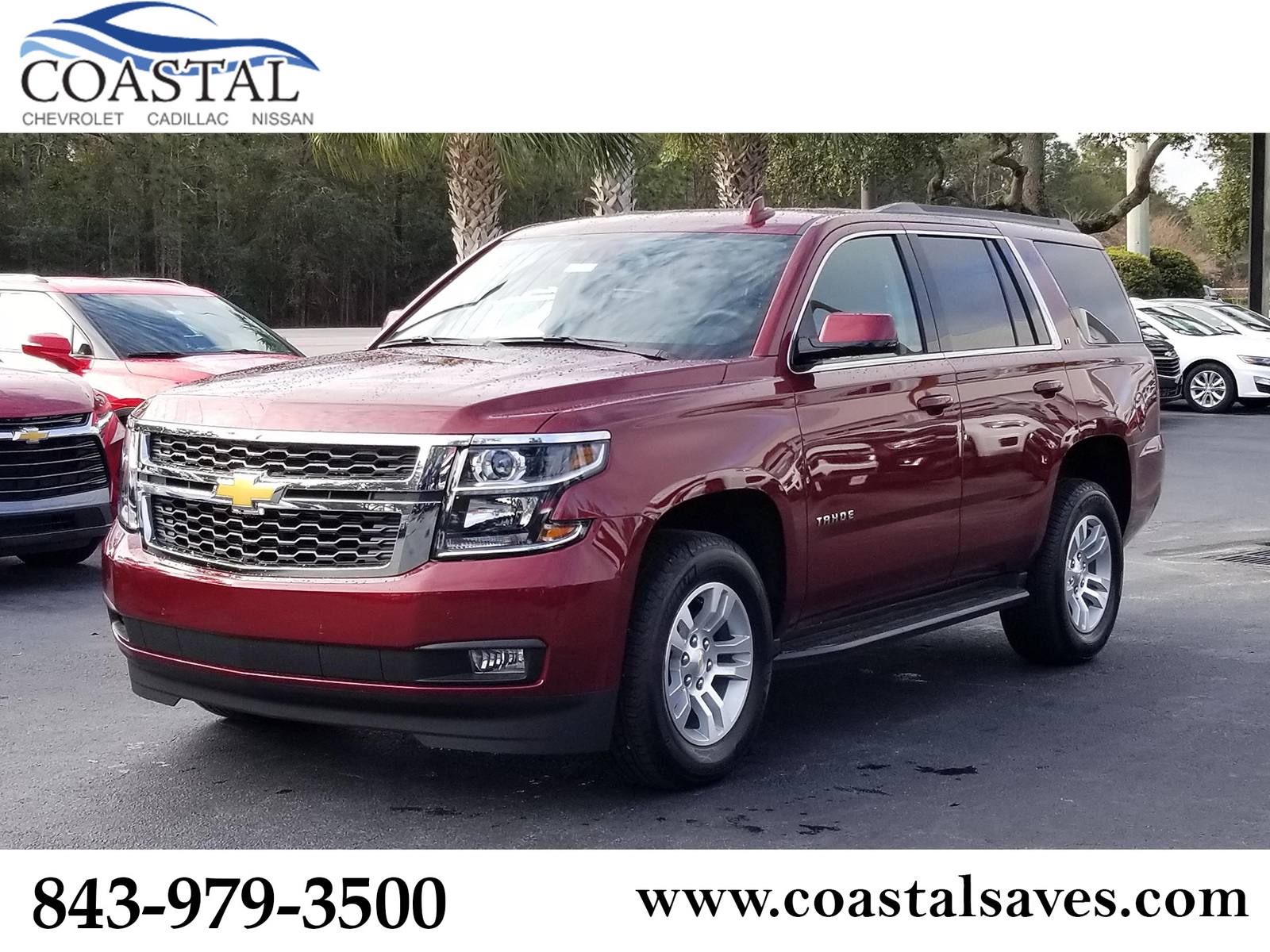 New 2020 Chevrolet Tahoe 2WD 4dr LT