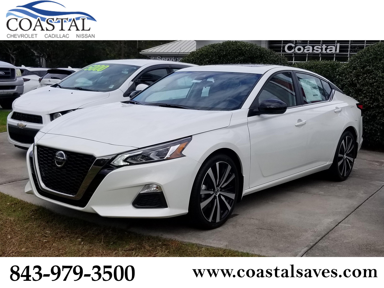 New 2020 Nissan Altima 2.5 SR Sedan