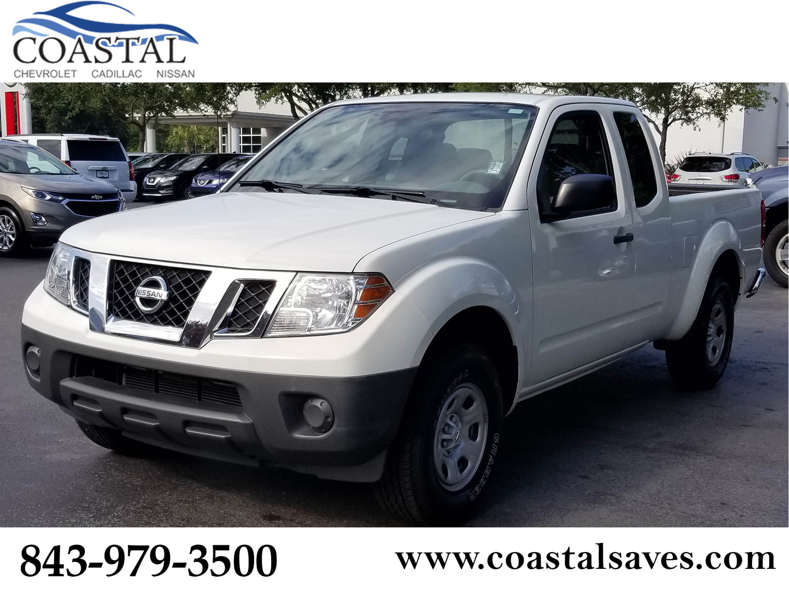 Pre-Owned 2015 Nissan Frontier 2WD King Cab I4 Auto S