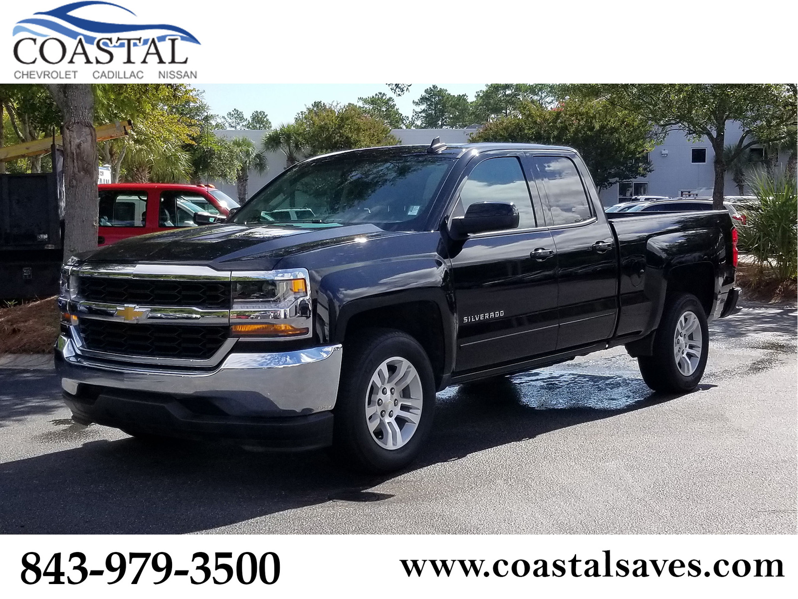 Pre-Owned 2019 Chevrolet Silverado 1500 LD 2WD Double Cab LT