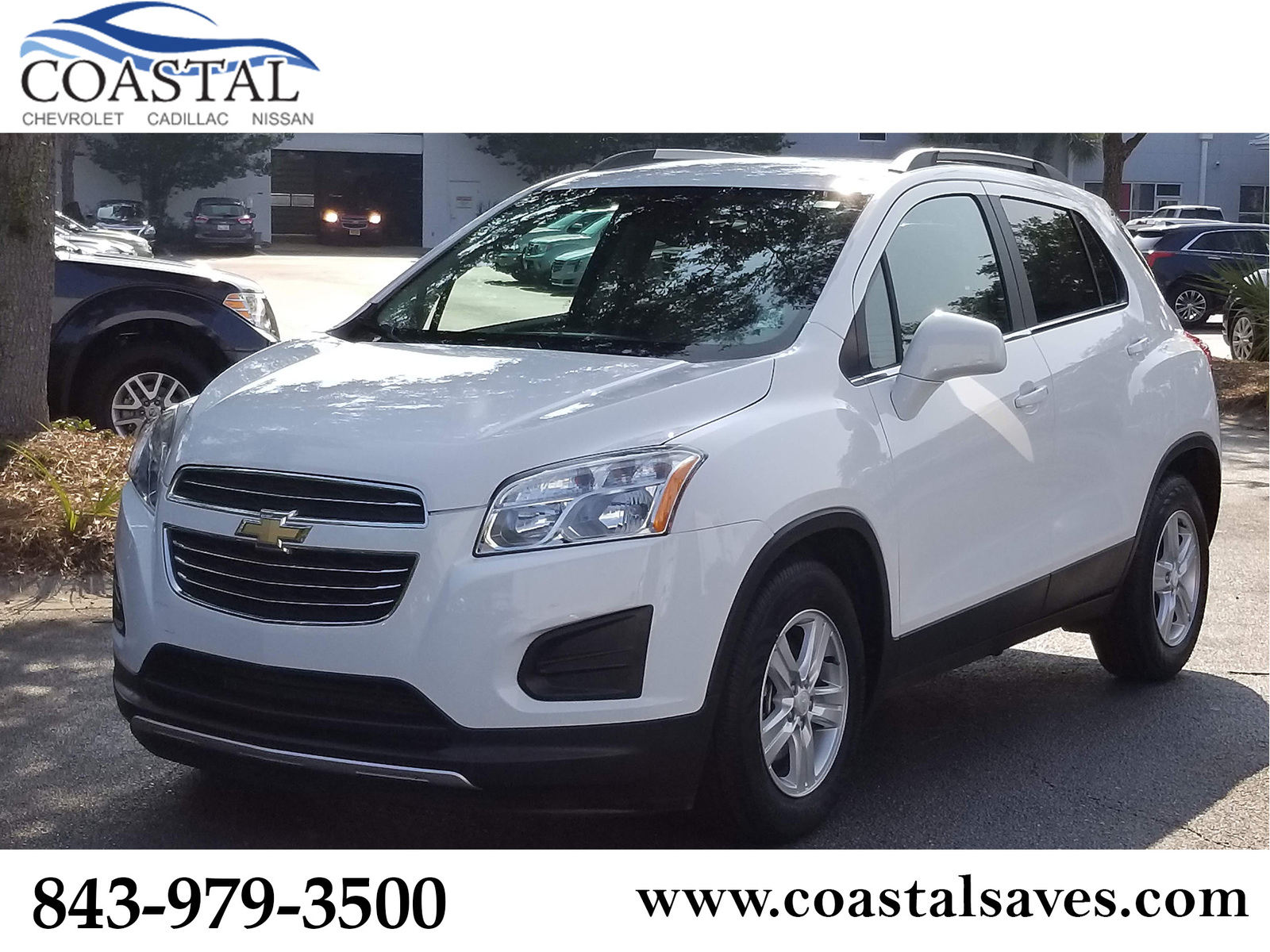 Pre Owned 2016 Chevrolet Trax Fwd 4dr Lt