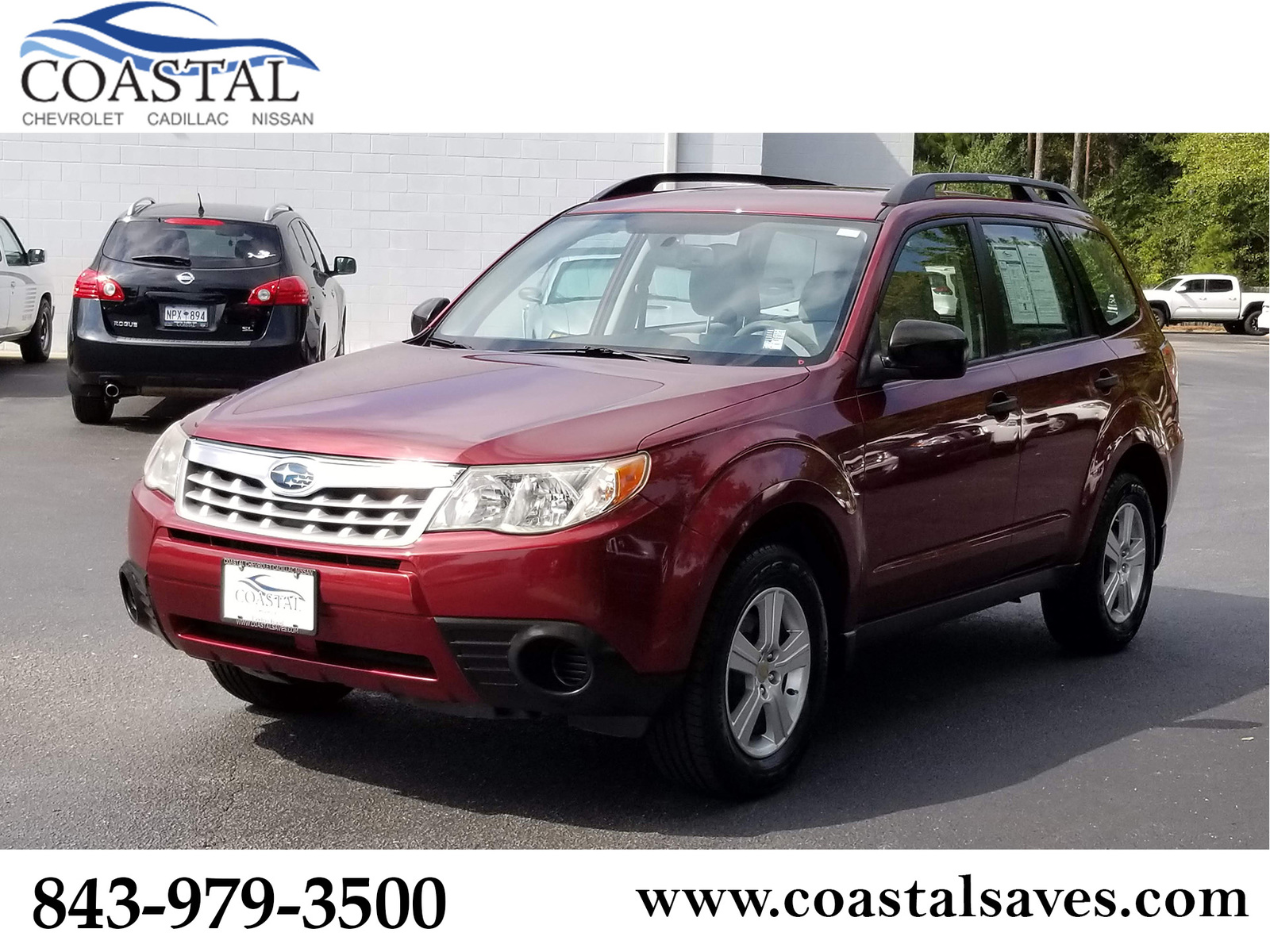 Pre-Owned 2013 Subaru Forester 4dr Auto 2.5X