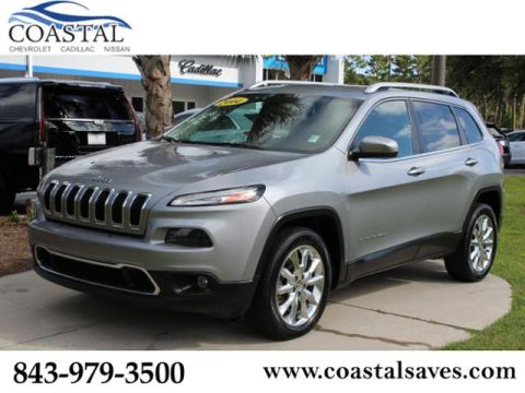 Pre-Owned 2014 Jeep Cherokee FWD 4dr Limited