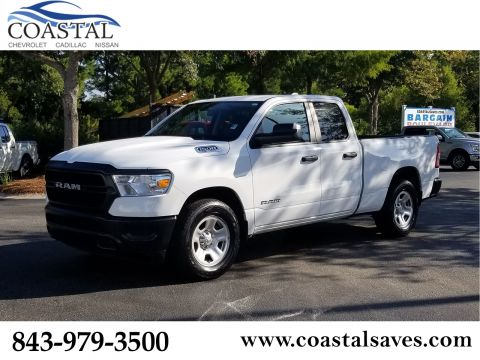 Pre-Owned 2019 Ram 1500 Tradesman 4x2 Quad Cab 6'4 Box