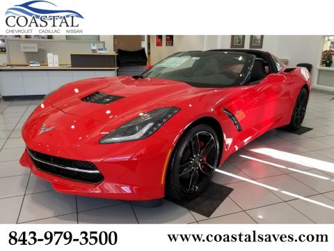 New 2019 Chevrolet Corvette 2dr Stingray Cpe w/1LT