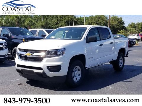 New 2020 Chevrolet Colorado 2WD Crew Cab 128 Work Truck