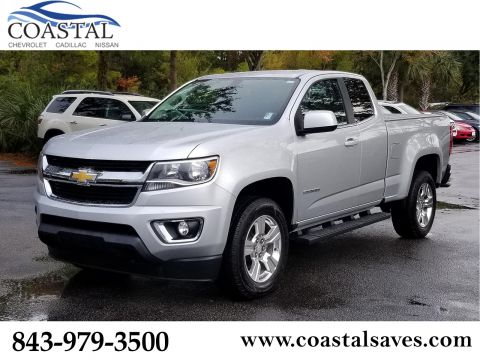 Pre-Owned 2017 Chevrolet Colorado 2WD Ext Cab 128.3 LT