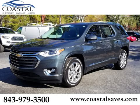 Certified Pre-Owned 2018 Chevrolet Traverse FWD 4dr Premier w/1LZ