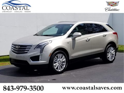 Certified Pre-Owned 2017 Cadillac XT5 FWD 4dr Premium Luxury