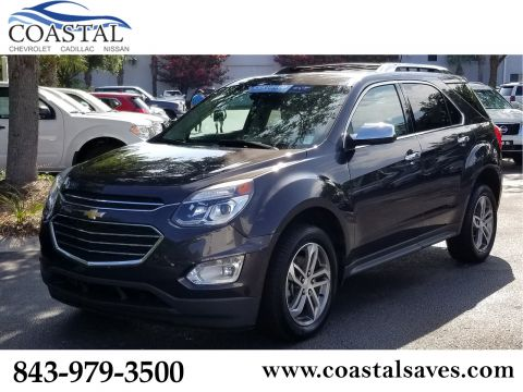 Certified Pre-Owned 2016 Chevrolet Equinox FWD 4dr LTZ