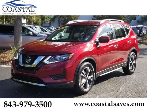 Certified Pre-Owned 2019 Nissan Rogue FWD SV