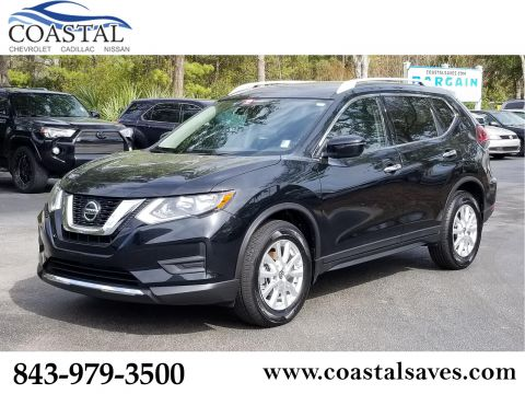 Certified Pre-Owned 2019 Nissan Rogue FWD S
