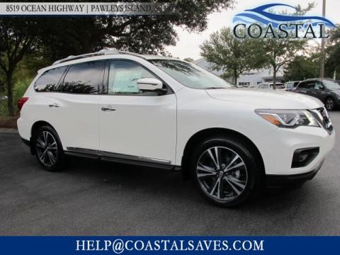 New 2018 Nissan Pathfinder FWD Platinum
