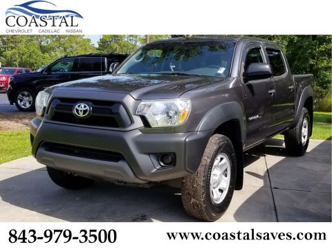 Pre-Owned 2013 Toyota Tacoma 2WD Double Cab I4 AT PreRunner