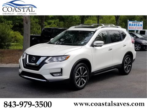 Certified Pre-Owned 2018 Nissan Rogue FWD SL